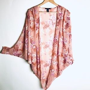 Forever 21 Floral duster (S)